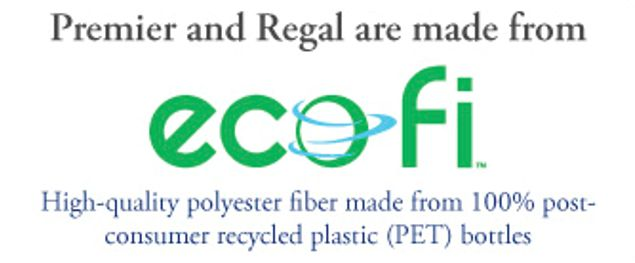 Premier and Regal are made from ecofi