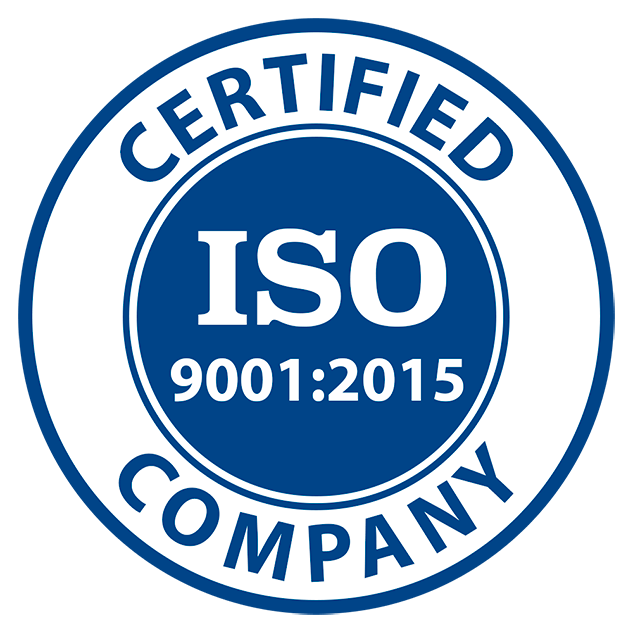 ISO certified 9001 2015